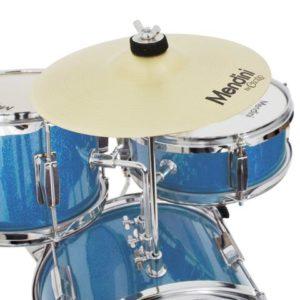 Mendini 13 Inch 3-Piece Kids Junior Drum Set with Adjustable Throne