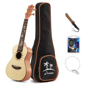 donner concert mahogany ukulele accessories