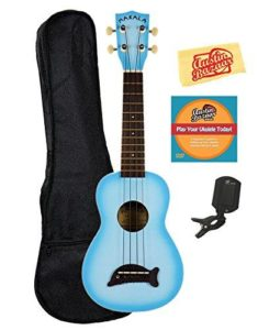 Makala Dolphin Soprano Ukulele Official Learn To Play Ukulele Starter Kit