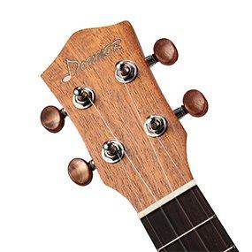 donner concert mahogany ukulele accessories nylon strings