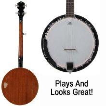 plays great banjo
