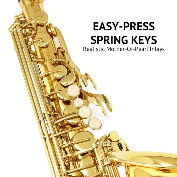 Lyxjam Alto Saxophone keys