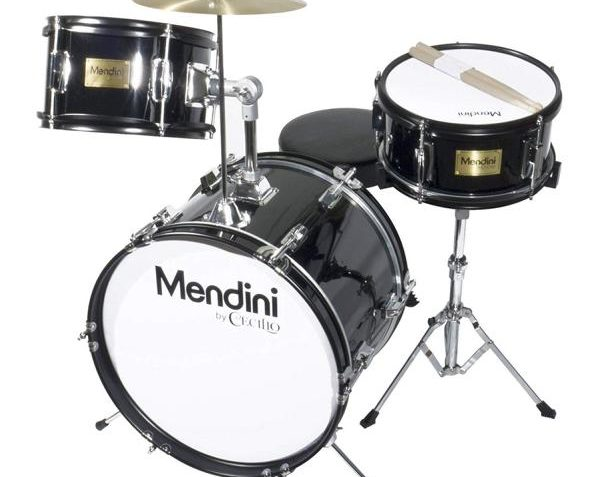 Mendini 16 inch 3-Piece Junior Drum Set