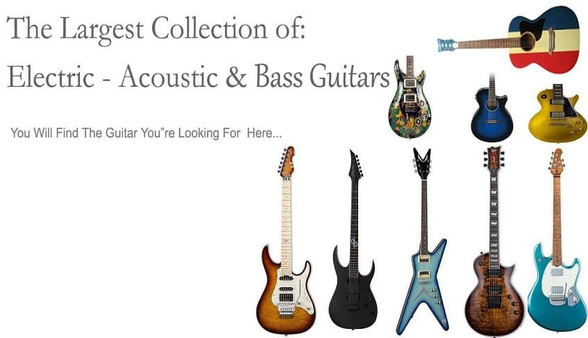 electric acoustic bass guitars