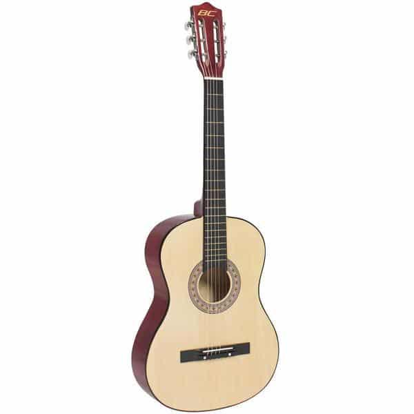 38in Beginner Acoustic Guitar Bundle Kit