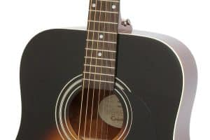 Epiphone DR-100 Acoustic Guitar vintage sunburst review