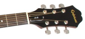 Epiphone DR-100 Acoustic Guitar neck