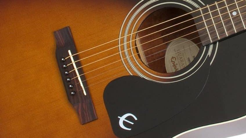 Epiphone DR 100 Acoustic Guitar Vintage Sunburst