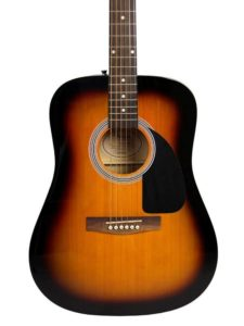 Fender FA-100 Sunburst Dreadnought Acoustic Guitar