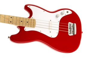 Squier fender bronco bass Guitar, Torino Red