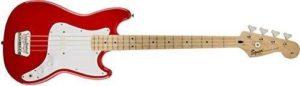 Squier Bronco Bass Guitar, Torino Red