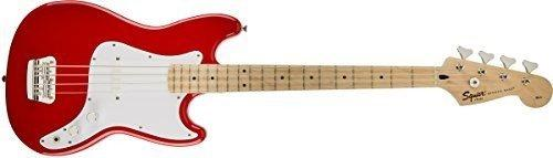 Squier fender bronco bass , Torino Red