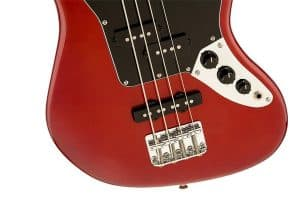 Squier by Fender Vintage SS Modified Special Jaguar Bass Candy Apple Red