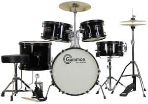 The Gammon 5 piece junior drum set for beginners review