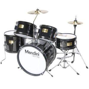 Mendini Kids Drum Set black