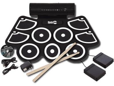 The RockJam RJ760MD MIDI Portable Drum Set