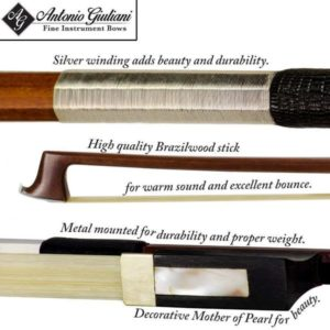 The Bunnel Premier Pupil Violin Bow