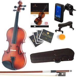 Mendini MV300 violin Solid Wood