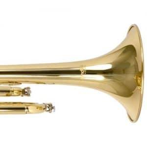 Mendini MTT-L Bb Trumpet sides