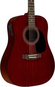 Rogue RA-090 Dreadnought Acoustic-Electric Guitar Regular Mahogany Natural