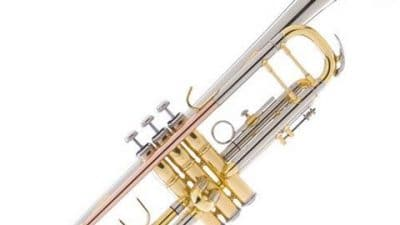 Mendini MTT-30CN Nickel Plated Intermediate Double-Braced Bb Trumpet