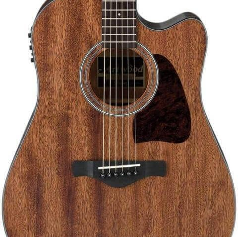 Ibanez AW54CEOPN Artwood Dreadnought Acoustic Electric Guitar body