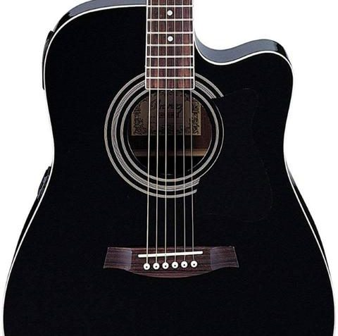 Ibanez V70CE Acoustic-Electric Guitar in Black