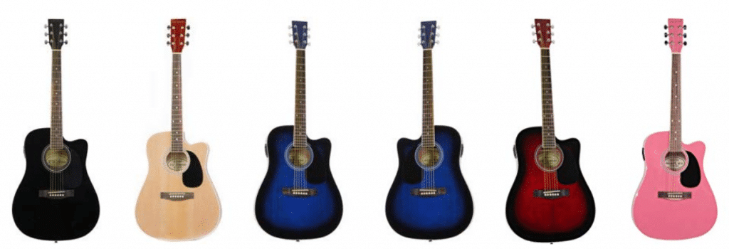 The Jameson Thinline Acoustic Electric Guitar In Other Colors