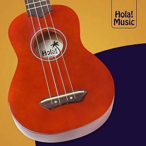 Hola! Music HM-21MG Soprano Ukulele Bundle Mahogany