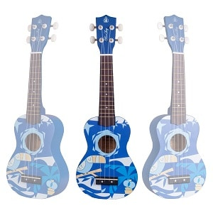 Honsing Soprano Ukulele In Blue Color