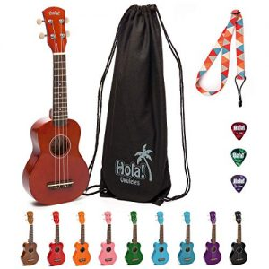 Hola HM-21MG Soprano Ukulele bundle kit for beginners