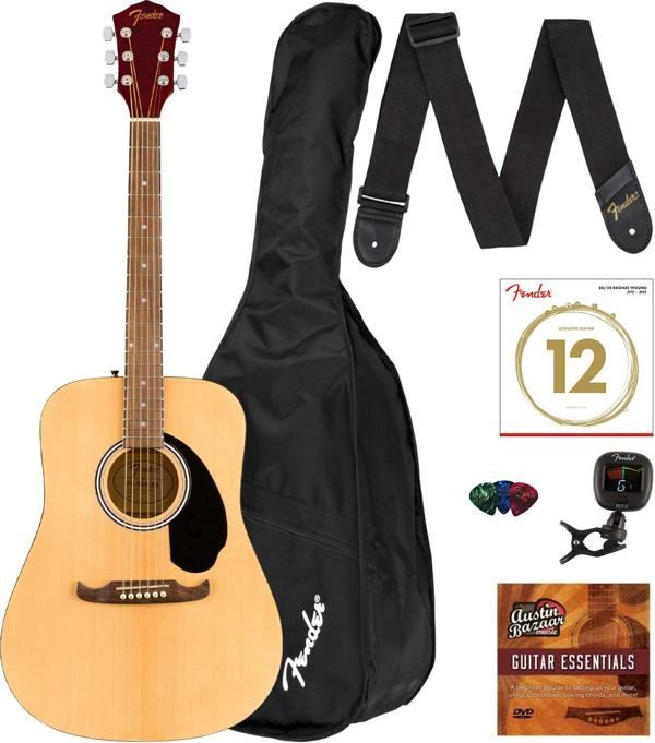 Fender FA-125 Acoustic Guitar Pack