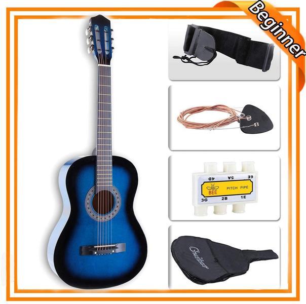 LAGRIMA 38 inch Acoustic Guitar starter kit for beginners